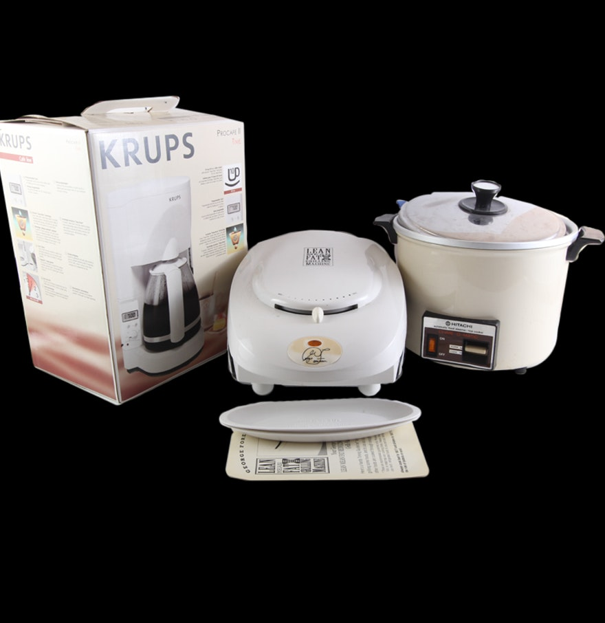 Trio of kitchen appliances ebth for 0 kitchen appliances