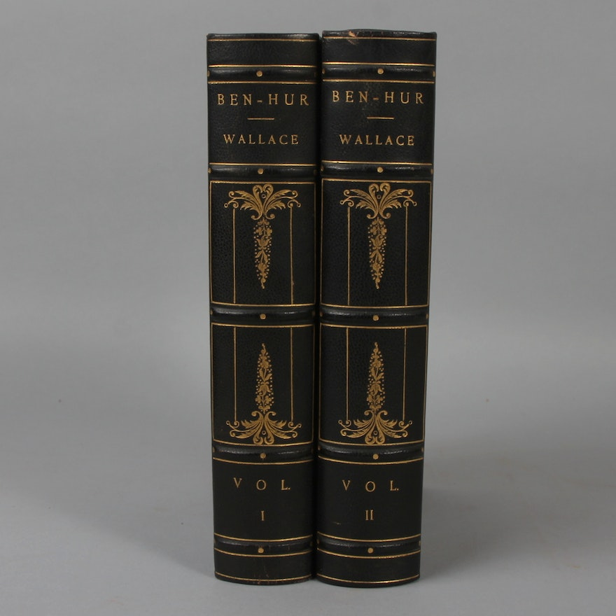 1906 Edition Of Ben Hur By Lew Wallace Ebth
