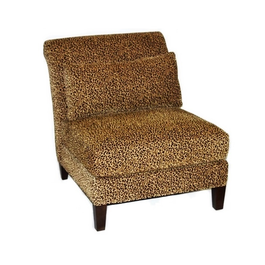 Superb Slipper Chair In Chenille Fabric From Arhaus Furniture Download Free Architecture Designs Embacsunscenecom