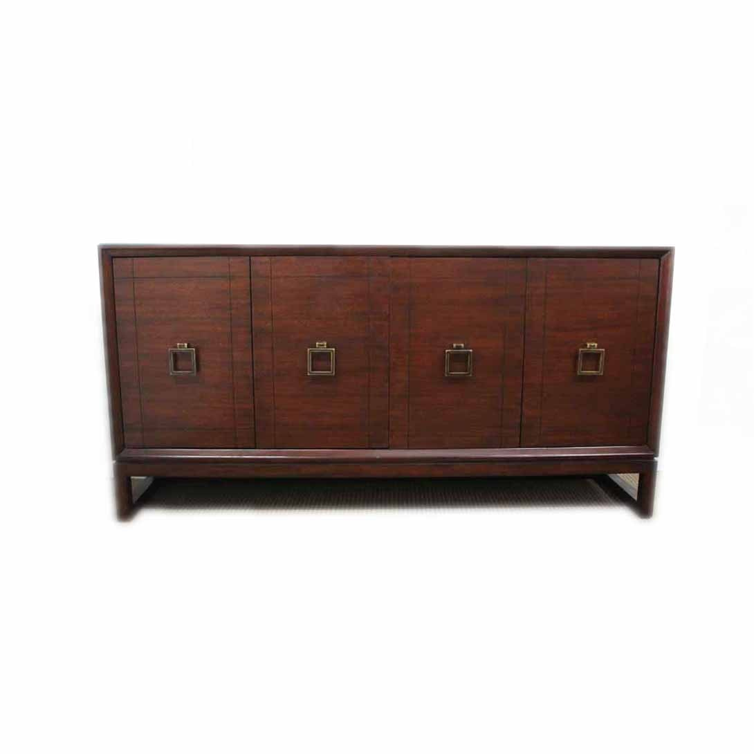 """Michael Weiss """"Newton"""" Sideboard with Glass Top"""