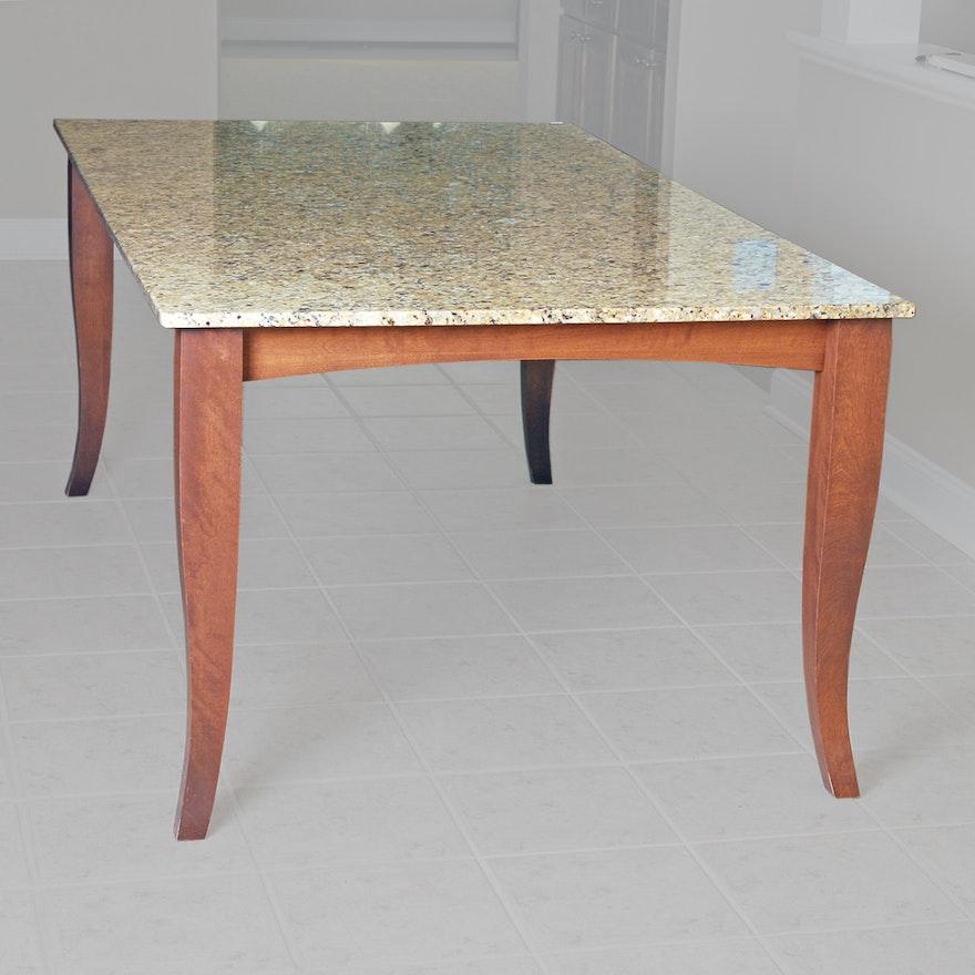 Quartz Top Dining Table | EBTH