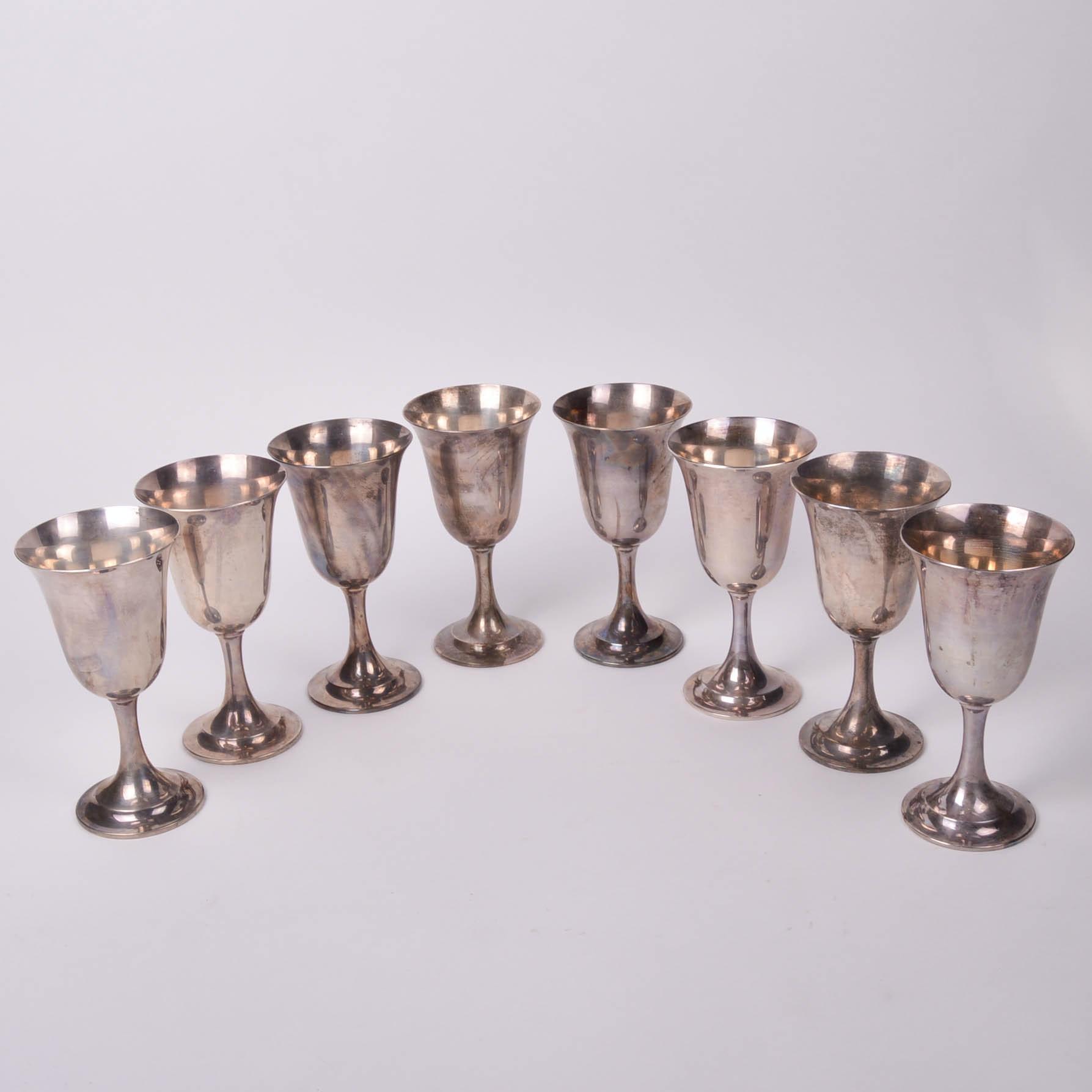 """Lord Saybrook"" International Sterling Silver Goblets"