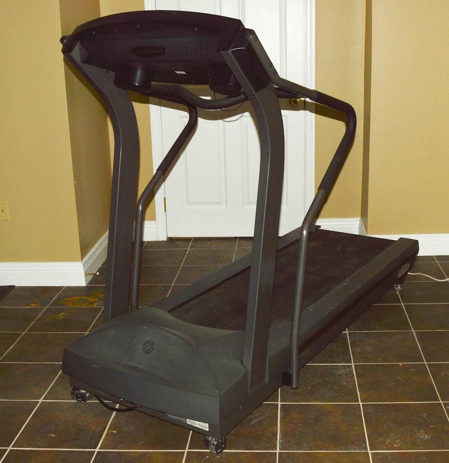 Life Fitness Treadmill History: LifeFitness T5i Treadmill : EBTH