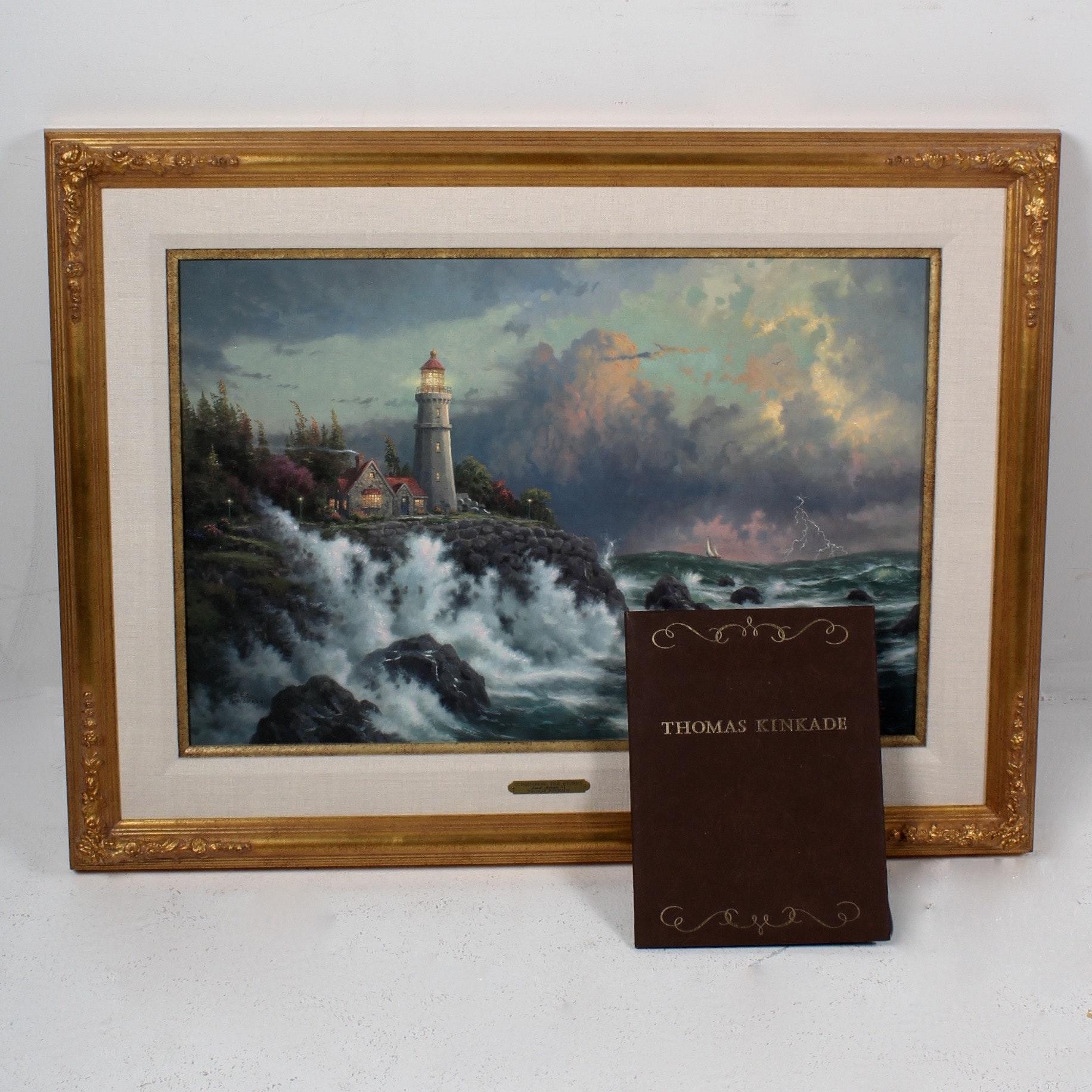"""""""Seaside Memories IV"""" Oil on Canvas by Thomas Kinkade"""
