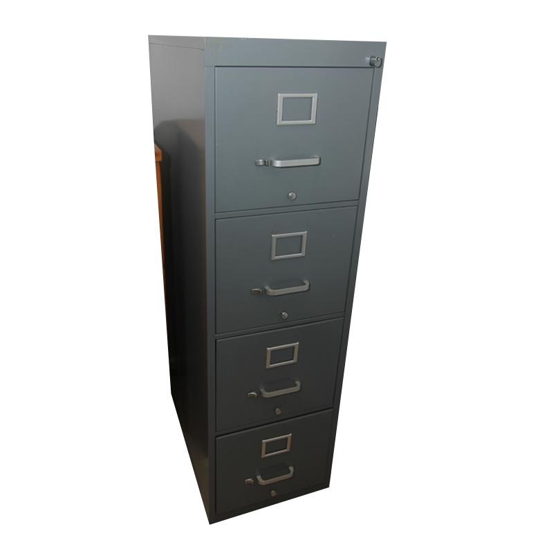 Holga Metal Filing Cabinet : EBTH