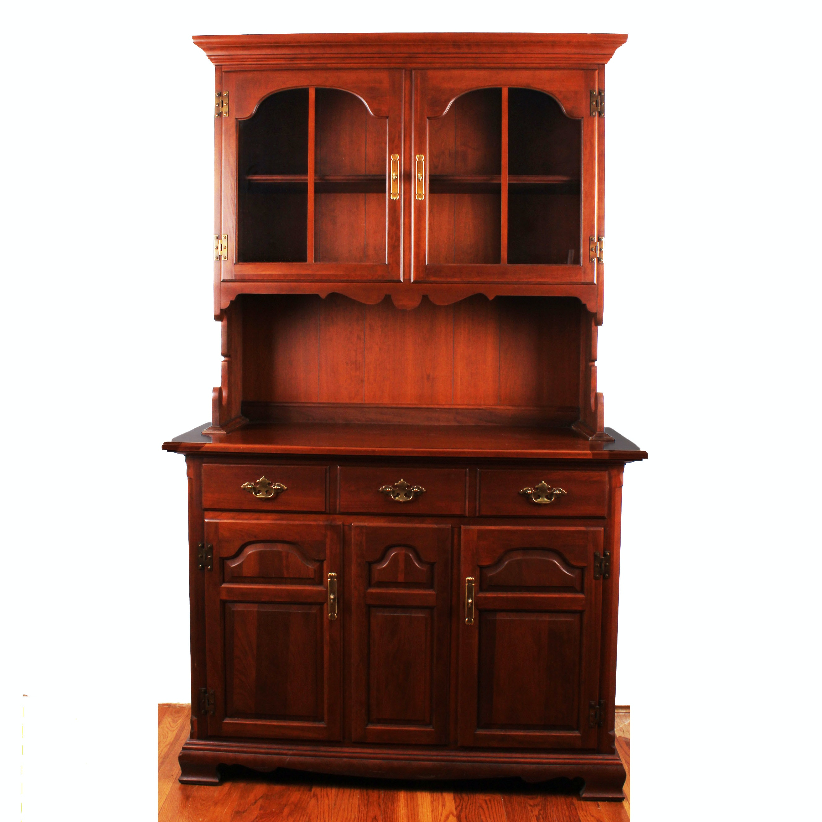 Vintage Potomac Cherry Tell City Hutch ...