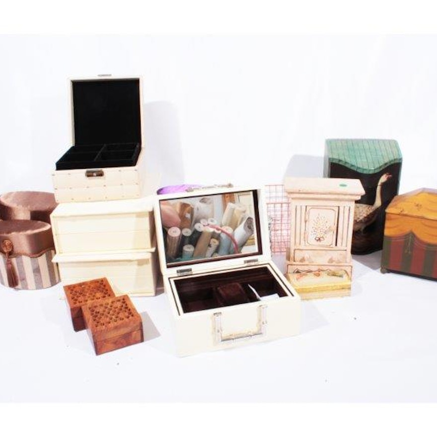 Collection Of Decorator Boxes EBTH Awesome Decorator Boxes