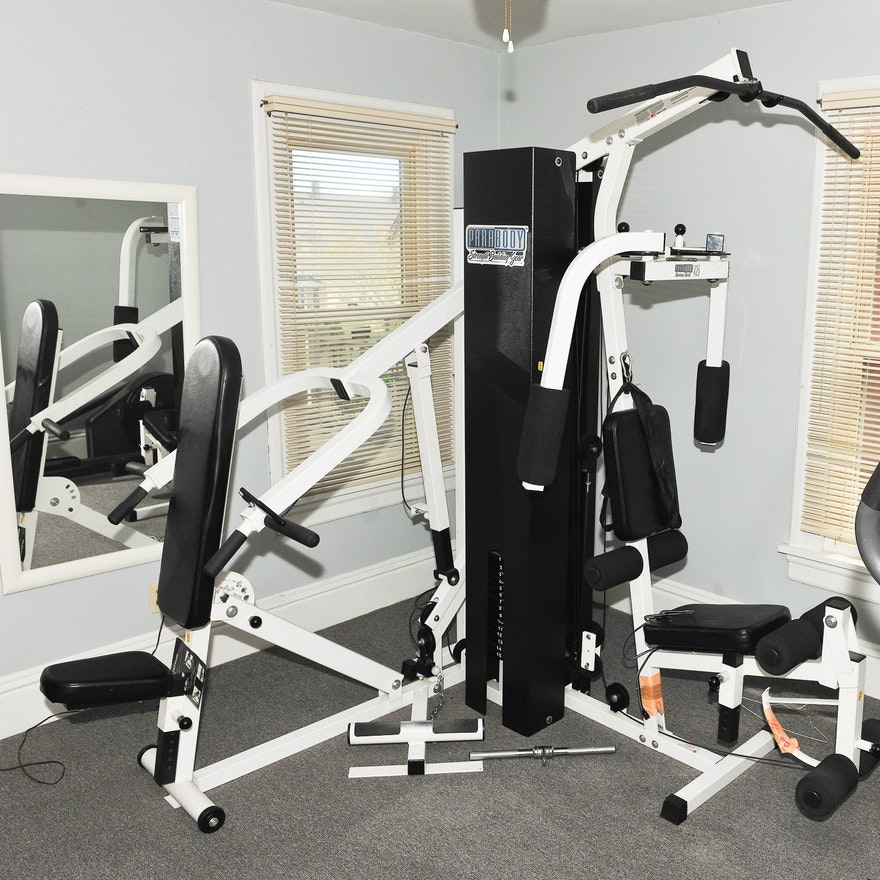 Parabody serious stell multi station home gym ebth