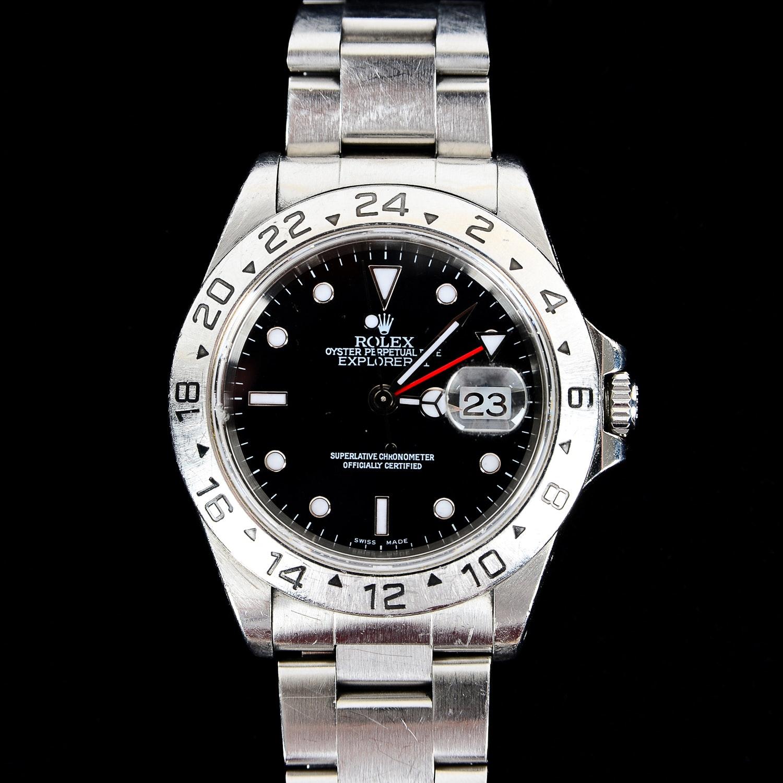 Rolex Oyster Perpetual Datejust Explorer II Watch
