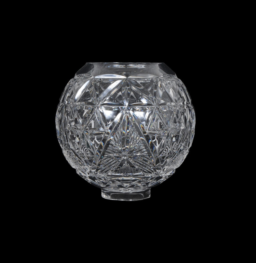 Waterford crystal times square 2000 bowl ebth - Waterford crystal swimming pool times ...