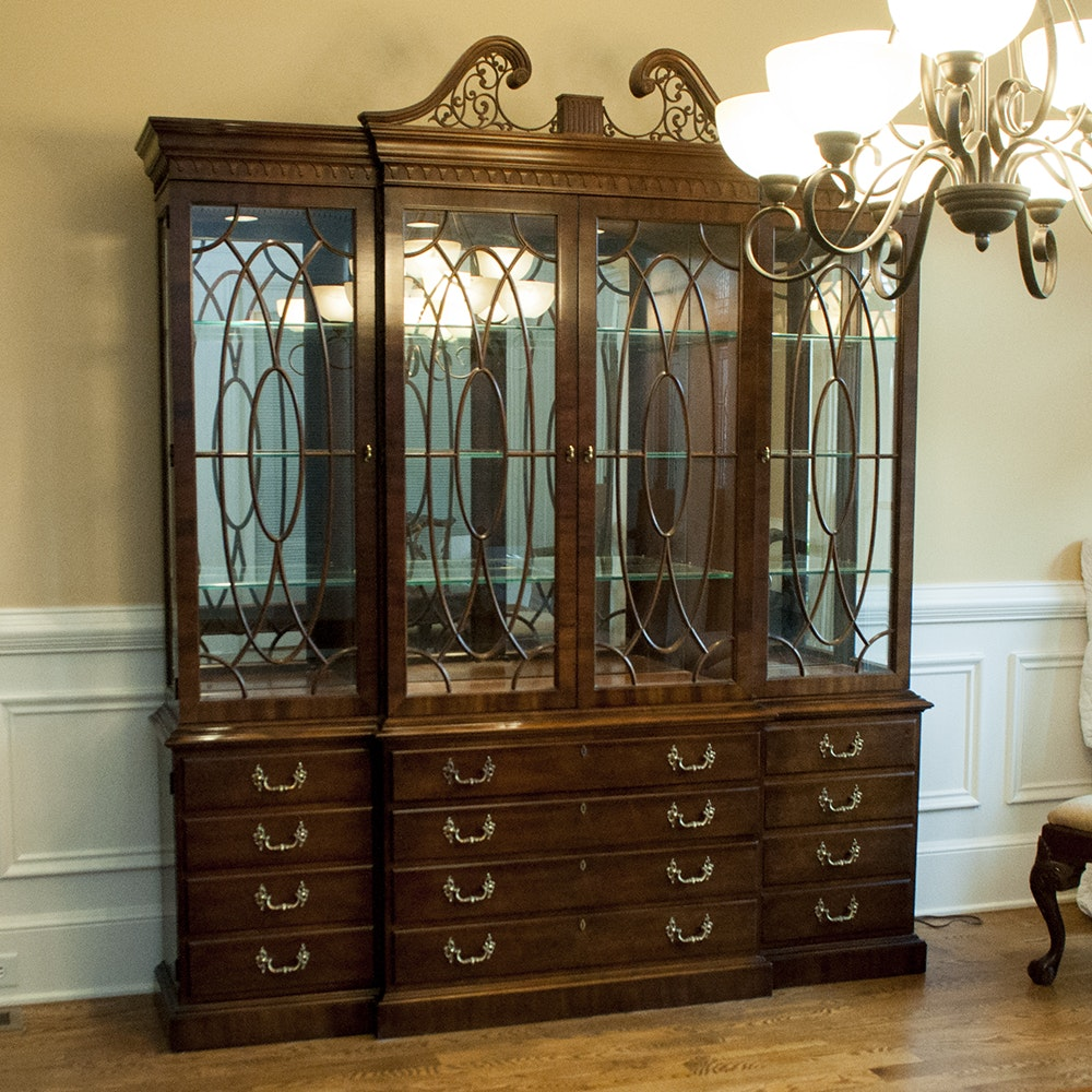 henredon rittenhouse square collection china cabinet : ebth