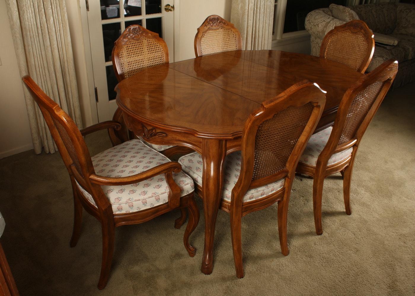 Captivating Vintage Drexel Cabernet Dining Set ...