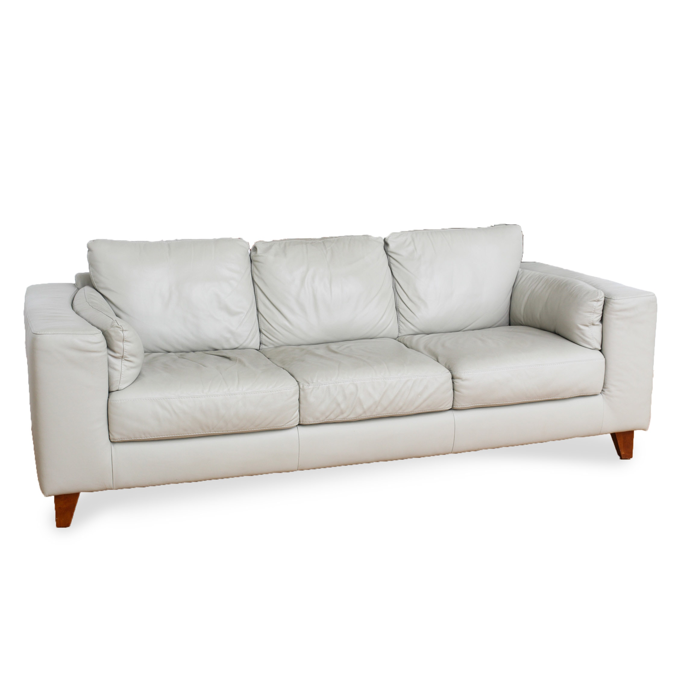 Italsofa Leather Sofa From Sprintz Furniture Nashville Ebth