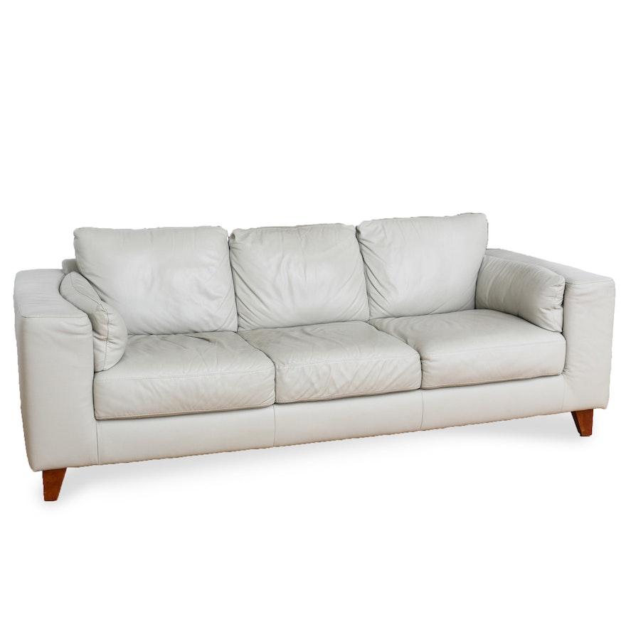 Italsofa leather sofa italsofa blair taupe leather sofa for Sectional sofas nashville