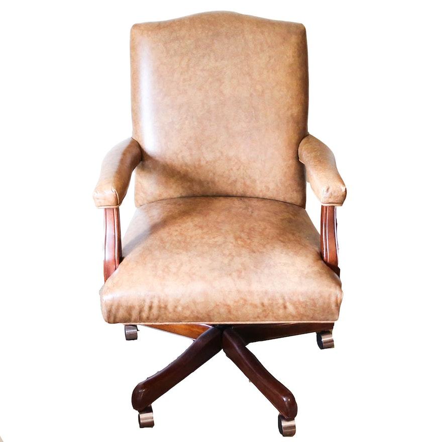Excellent Fairfield Leather Office Chair Inzonedesignstudio Interior Chair Design Inzonedesignstudiocom