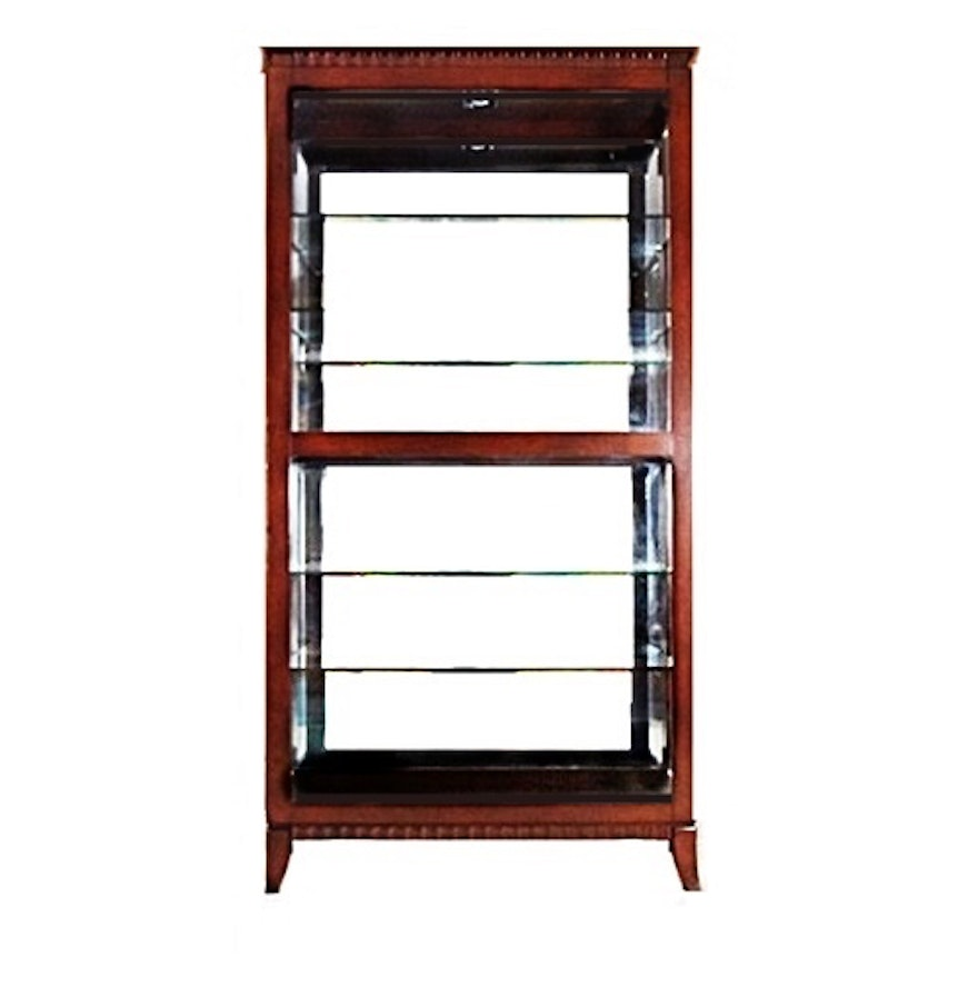 Glass Curio Cabinets With Lights Lighted Glass Display Cabinet Soul Speak Designs