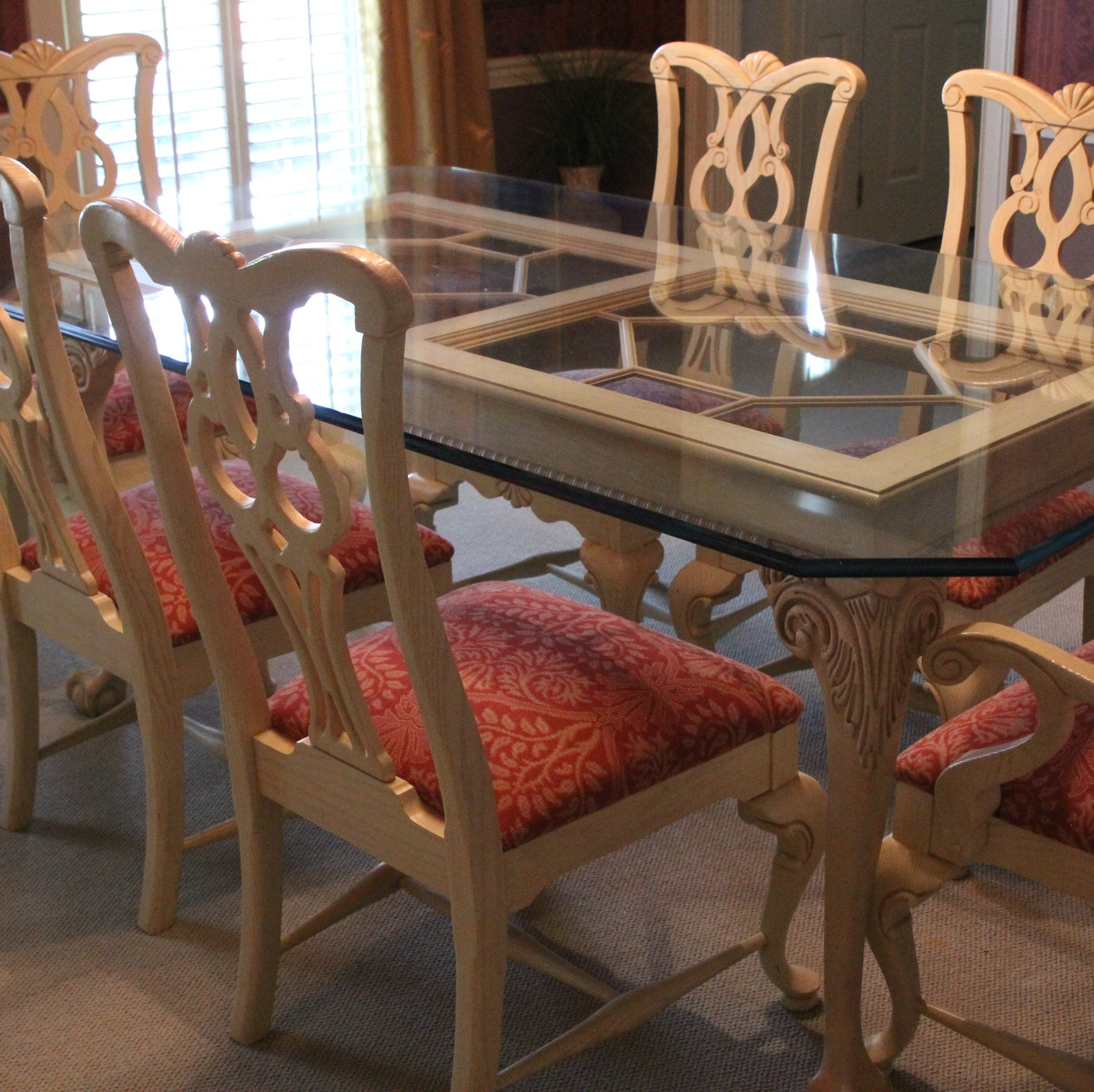 Thomasville Dining Table Allen Kitchen Table Ethan Allen Country