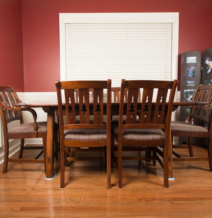 "Cherry Dining Room Chairs: ""The World Of Bob Timberlake"" Cherry Dining Room Table And"