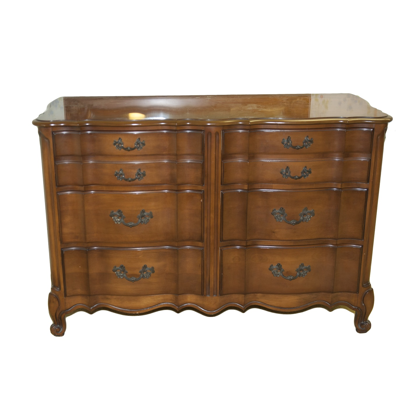 White Furniture Company French Provincial Style Chest Of