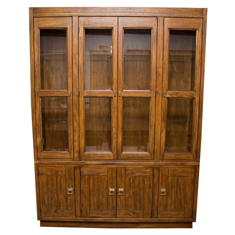 Drexel Heritage Fruit Wood China Cabinet ...
