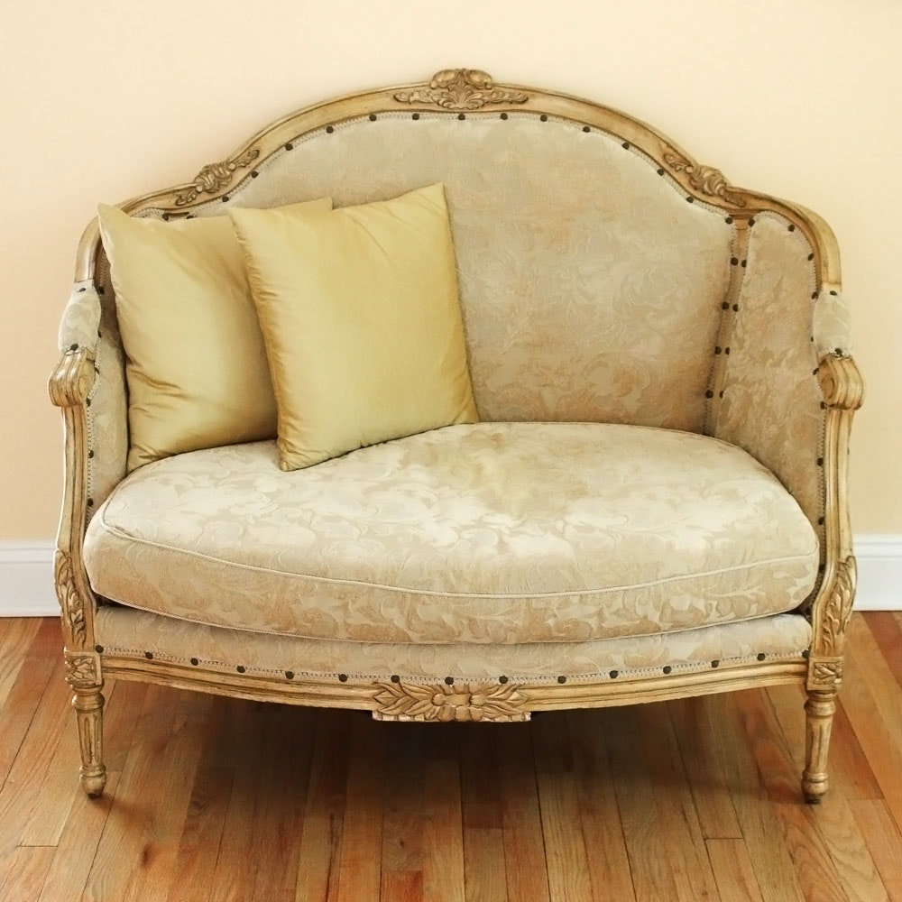 Rococo Inspired Settee