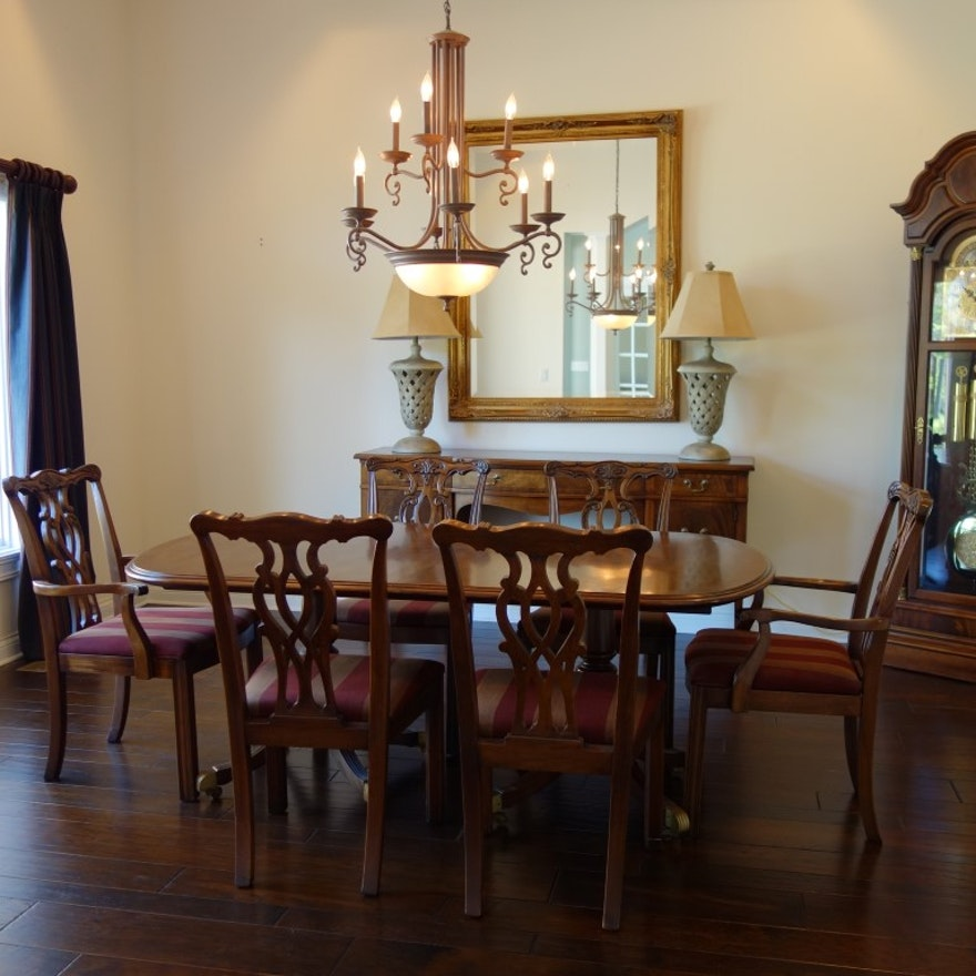 Romweber Thornhill House Collection Mahogany Dining Room Set : EBTH