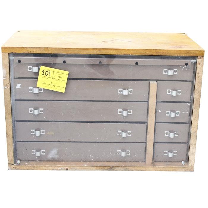 Vintage Wood and Metal Tool Box