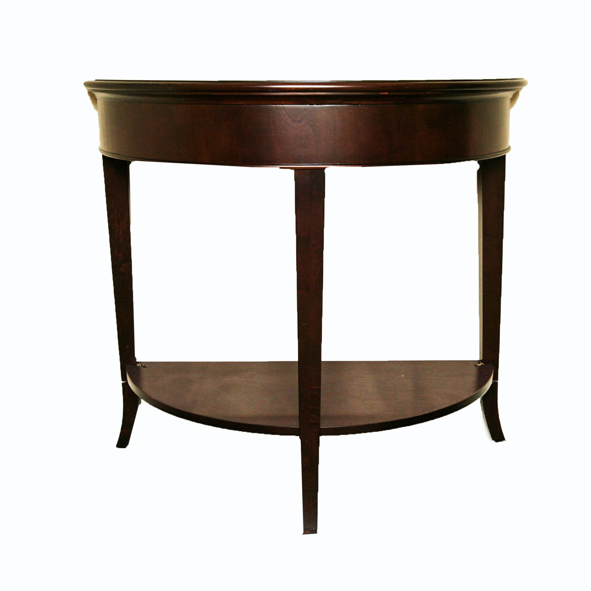 Captivating Demilune Entry Table ...