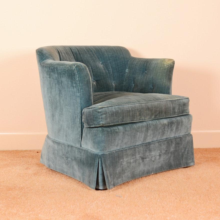 Vintage Henredon Barrel Back Club Chair