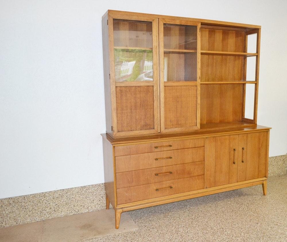 Mid Century Modern Jack Cartwright Inspired Credenza U0026 Hutch By Century  Furniture : EBTH
