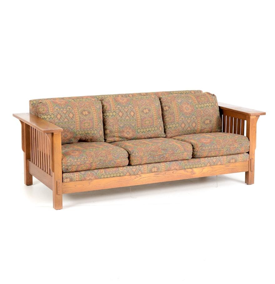 Flexsteel Mission Style Sofa Ebth
