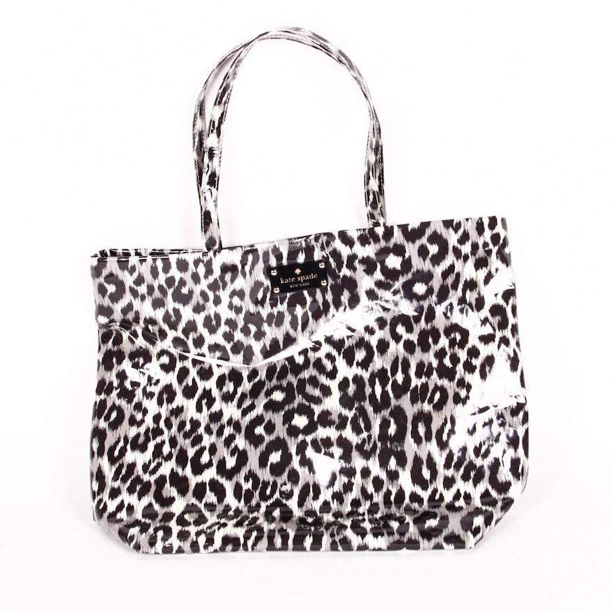124f4f87b2b9 Kate Spade New York Leopard Daycation Bon Shopper Tote : EBTH