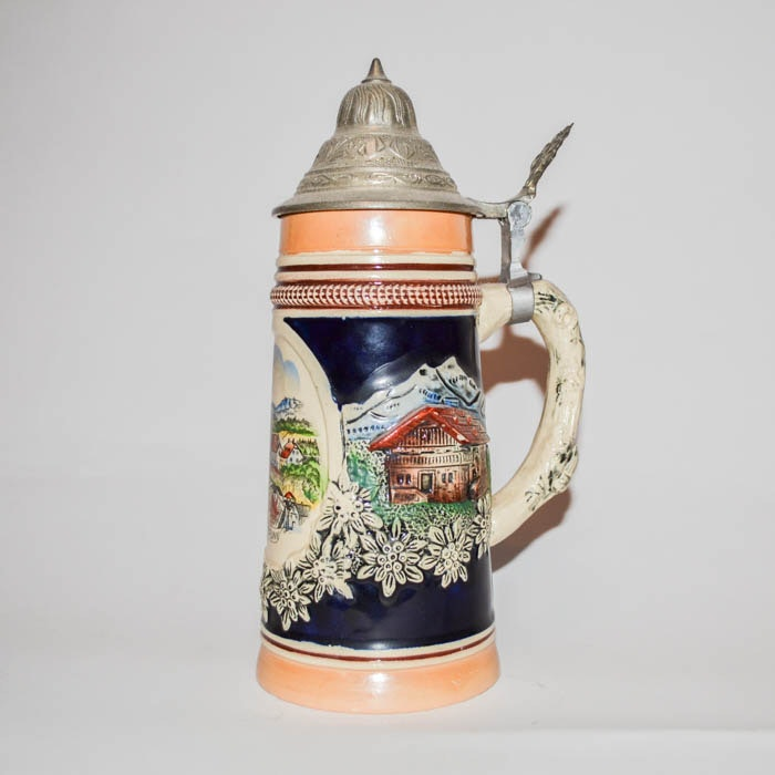 Original King 700 Beer Stein Ebth