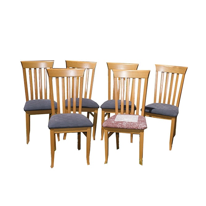 Charmant Set Of Cherry Pond Design Dining Chairs ...