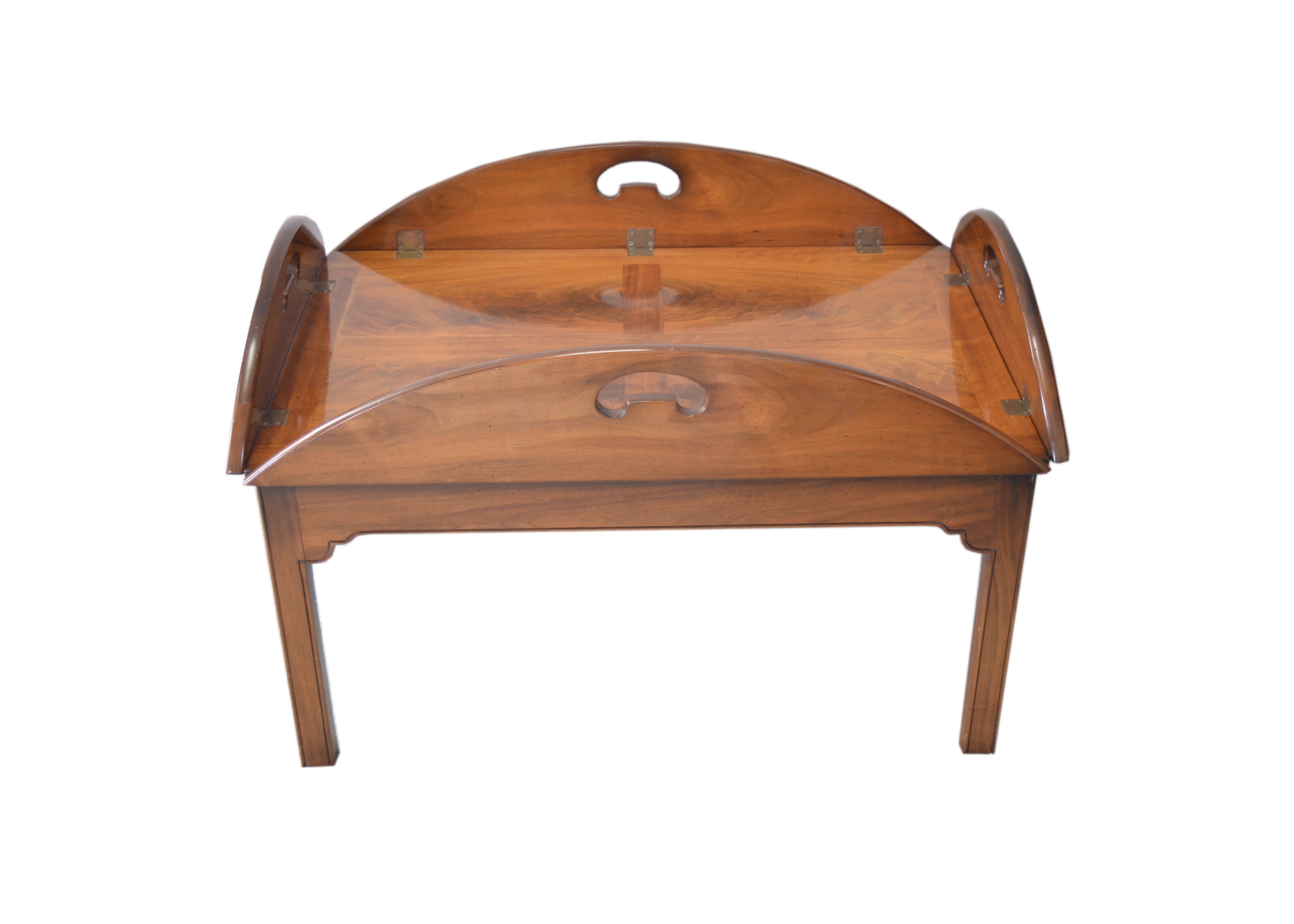 Good Wright Table Company Butleru0027s Tray Top Table ...