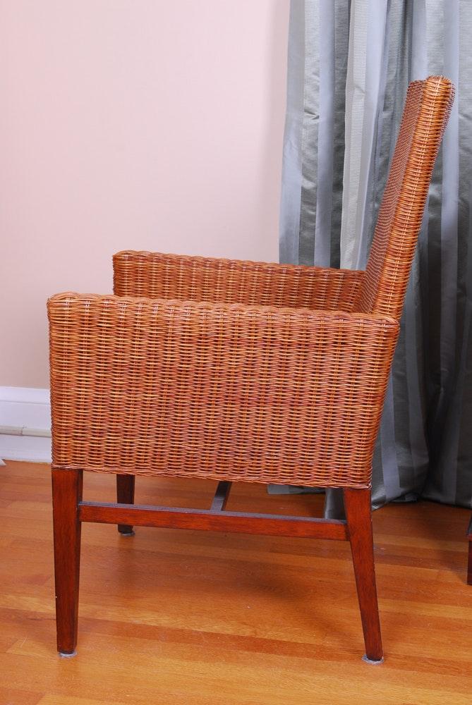 Ethan Allen Rattan Side Chair EBTH : RYK4177jpgixlibrb 11 from www.ebth.com size 669 x 1000 jpeg 150kB