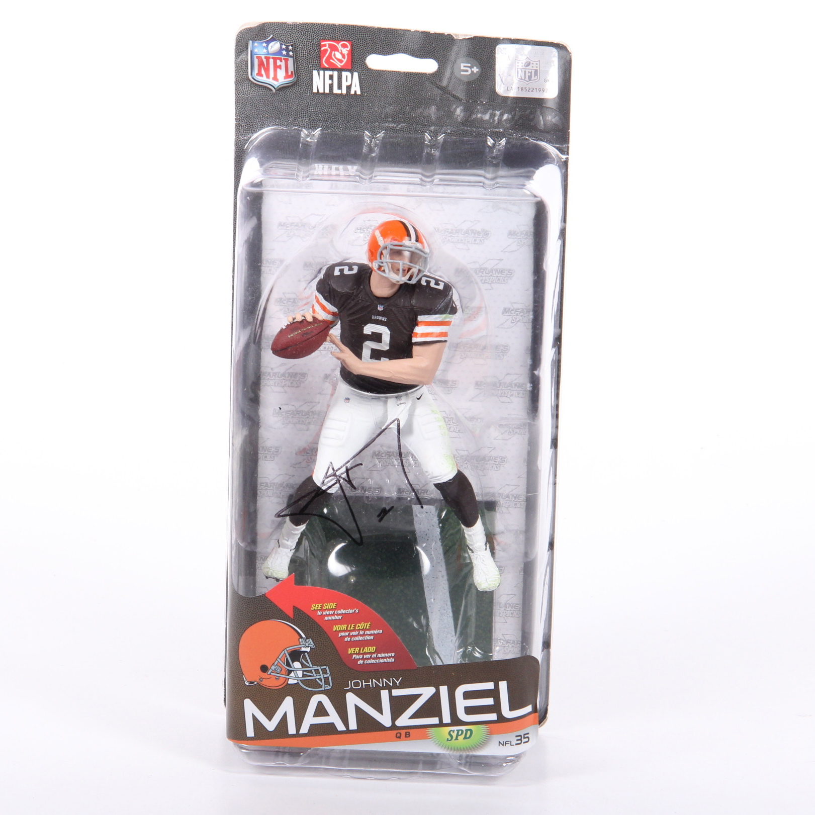 Johnny Manziel Action Figure