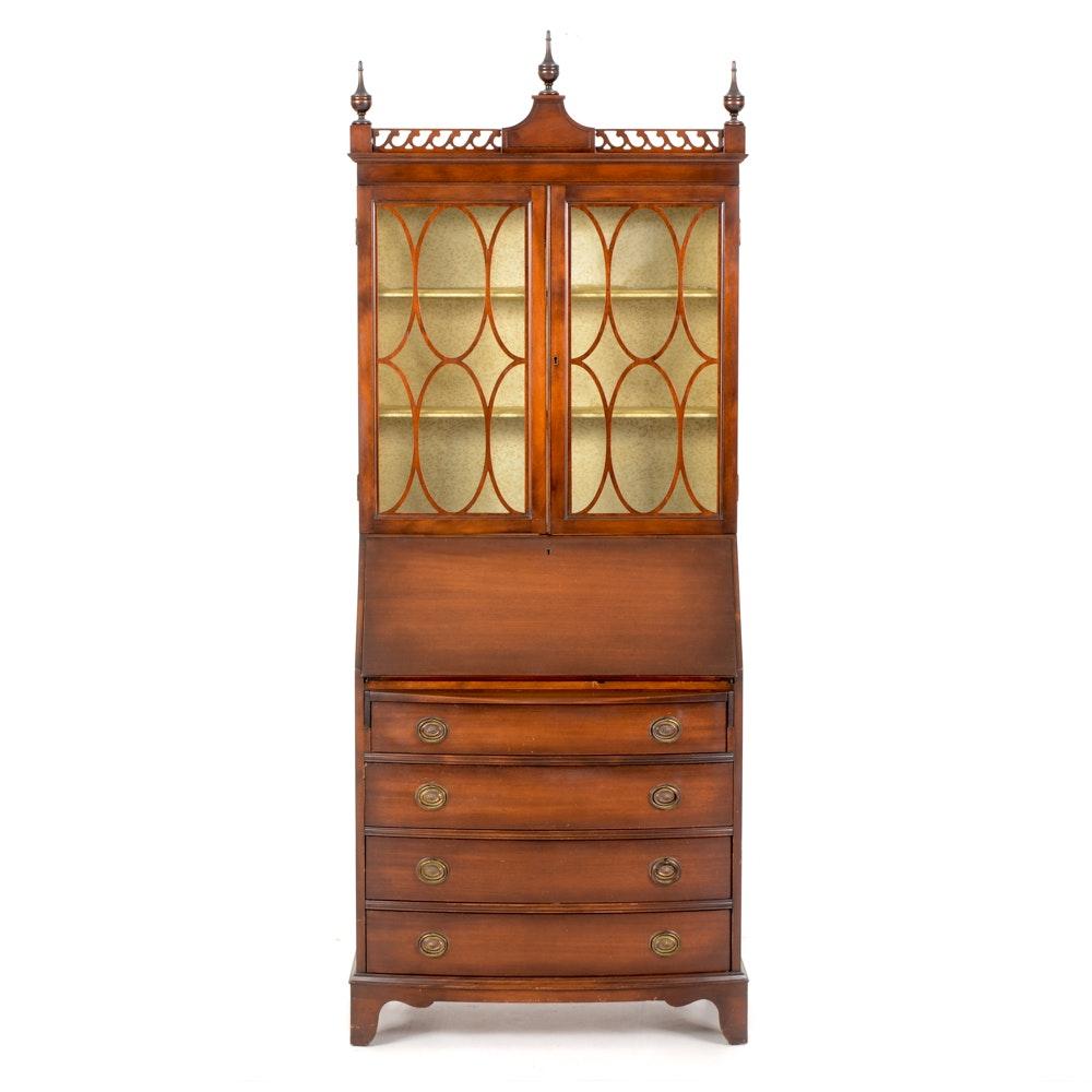 Ordinaire Skandia Furniture Mahogany Finish Secretary ...