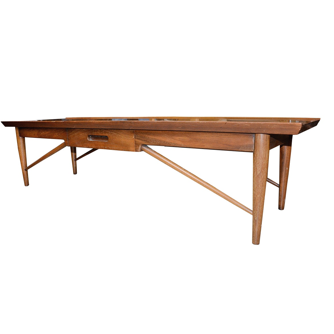 Mid Century Modern Coffee Table By Heritage Henredon ...