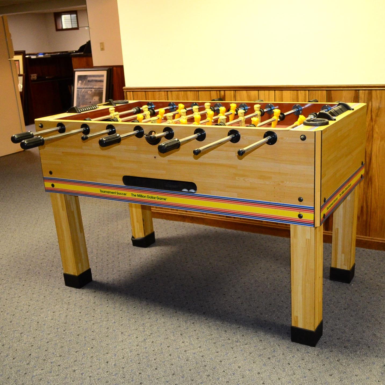 tournament soccer foosball table