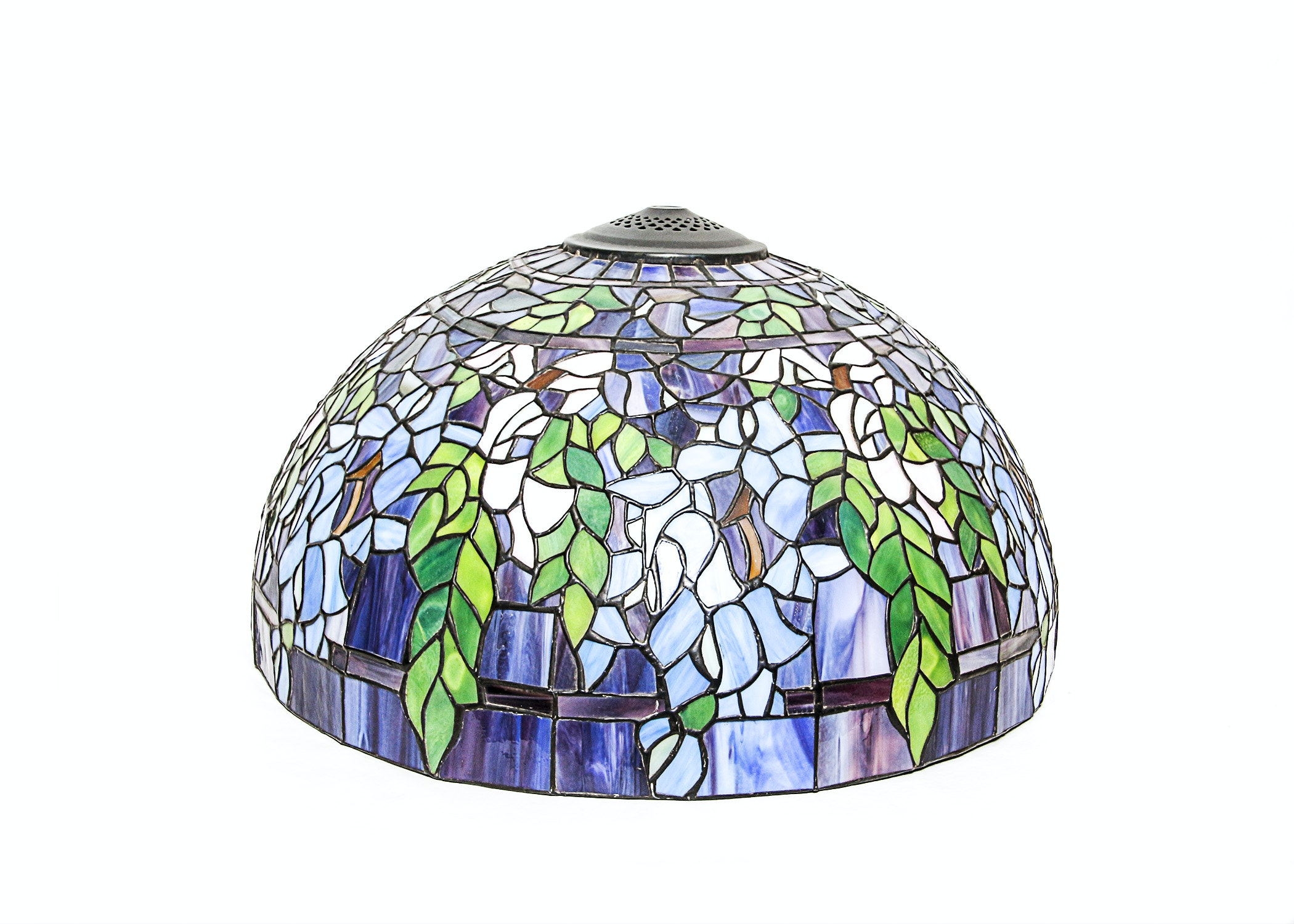 Tiffany Style Stained Glass Dome Lamp Shade