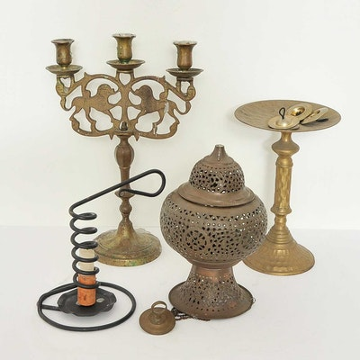 Assortment of Metal Decor