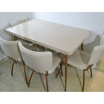 Vintage Dining Furniture Auction