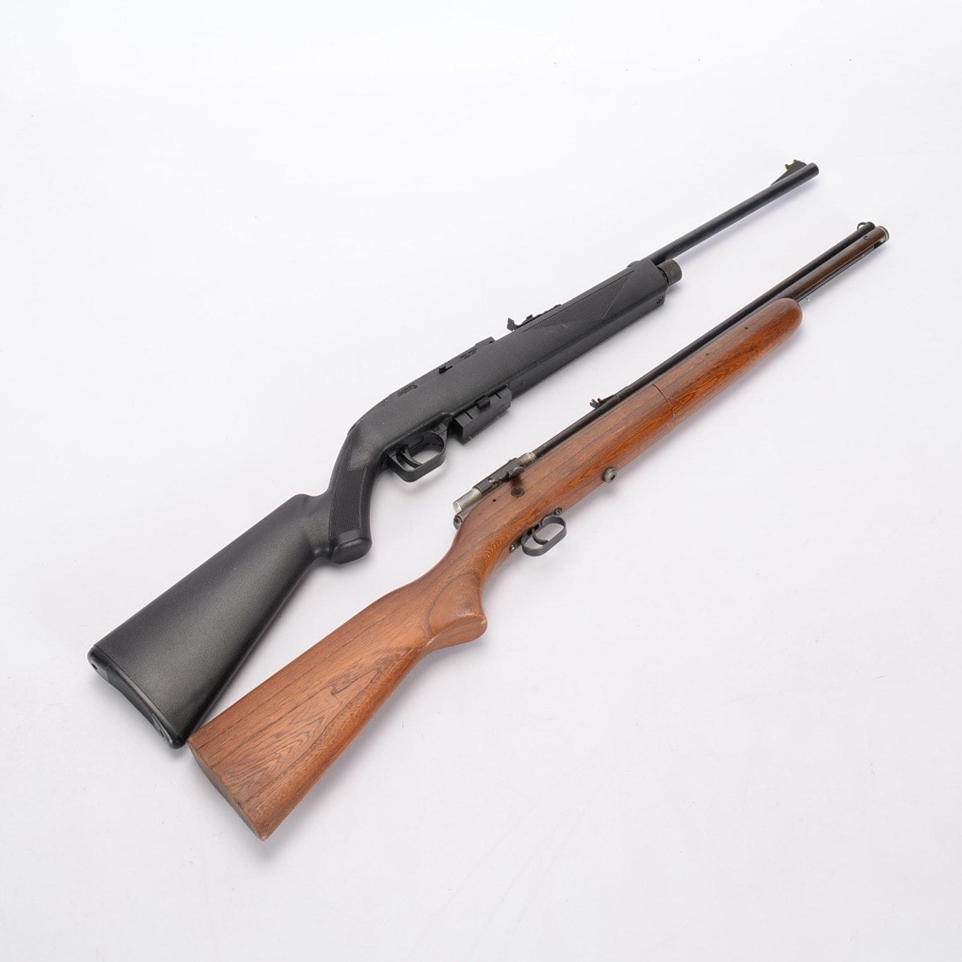 Pair of Two Crosman Pellet Rifle Guns