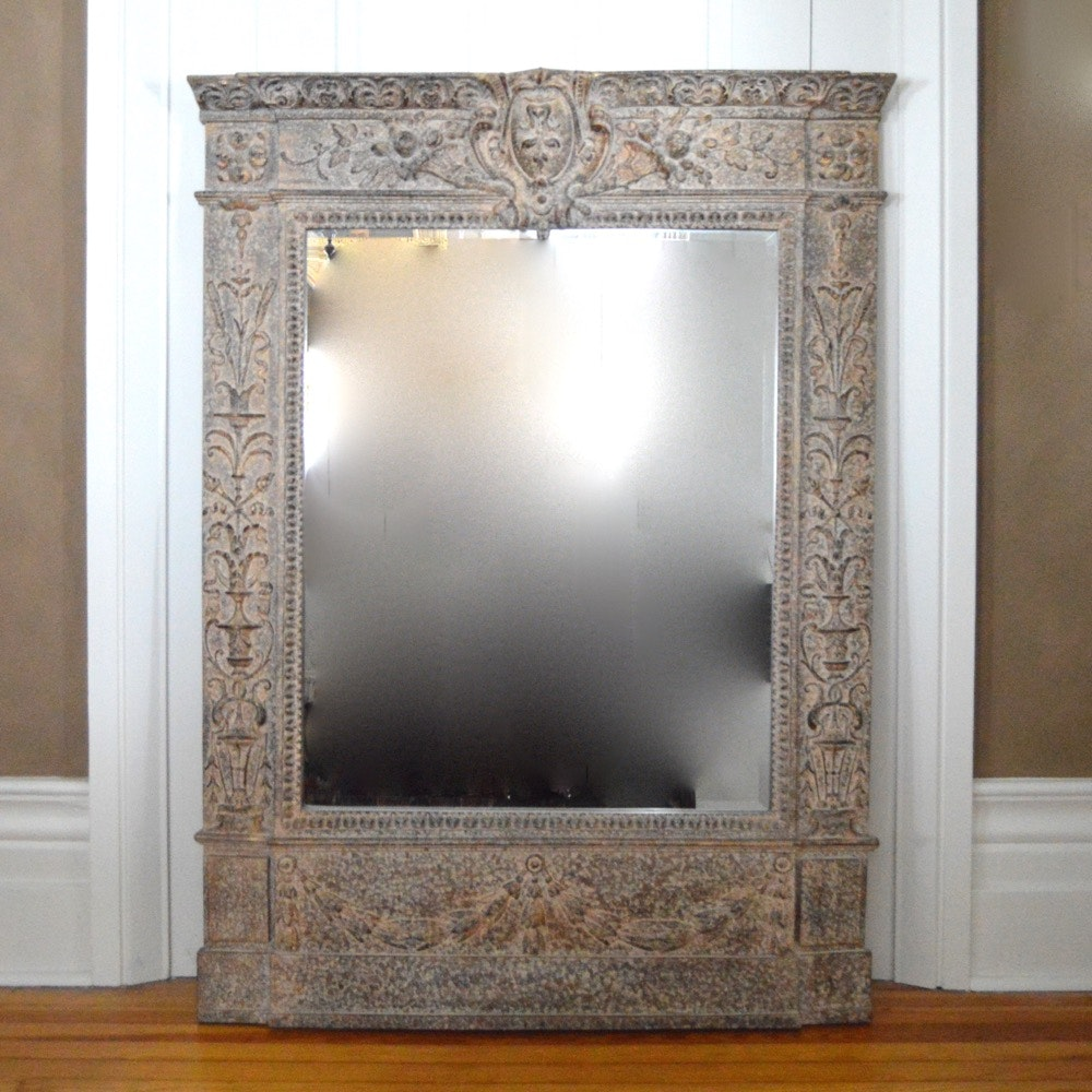 Large decorative wall mirror ebth for Huge decorative mirrors