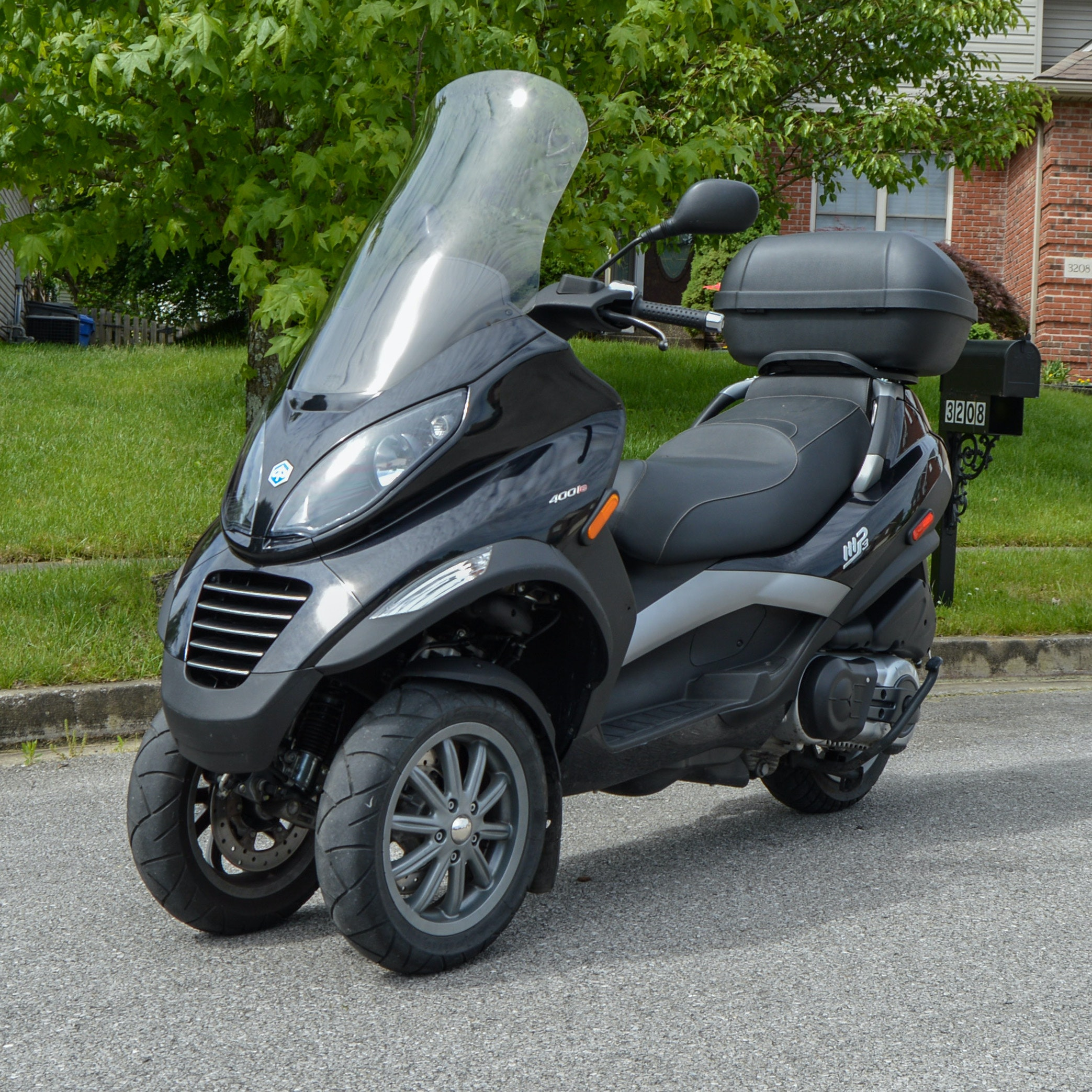 2008 Piaggio MP3-400 Scooter