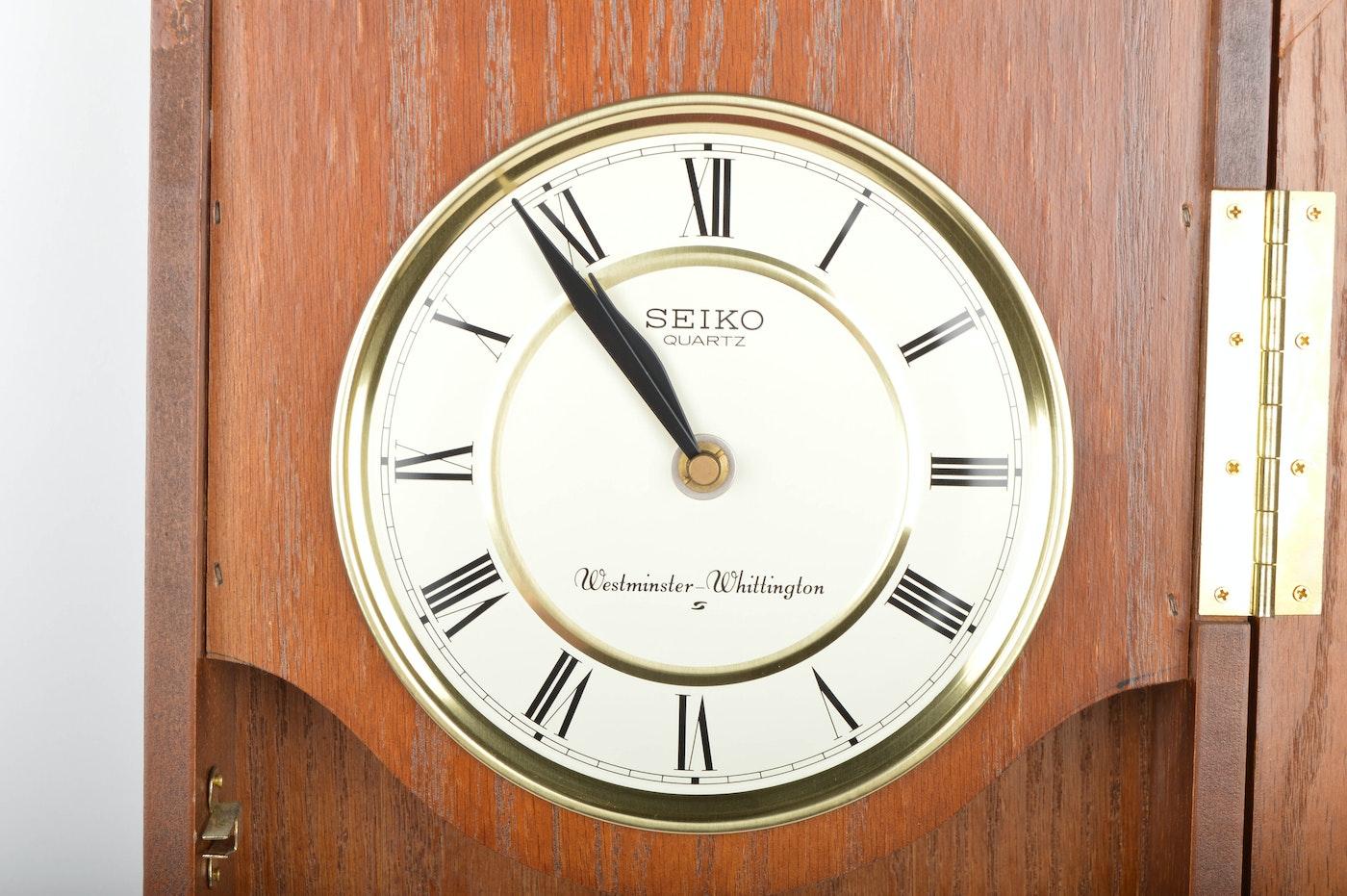 Seiko Quartz Westminster Whittington Wall Clock Ebth