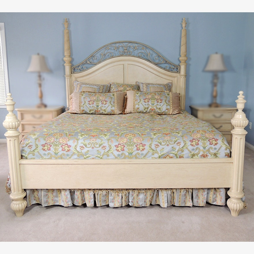 Sophia Four Poster King Bed By Stanley Furniture
