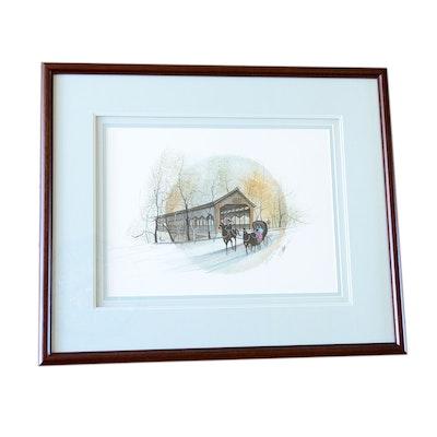Vintage Art Prints | Art Print Auctions | Lithographs for Sale (Page ...