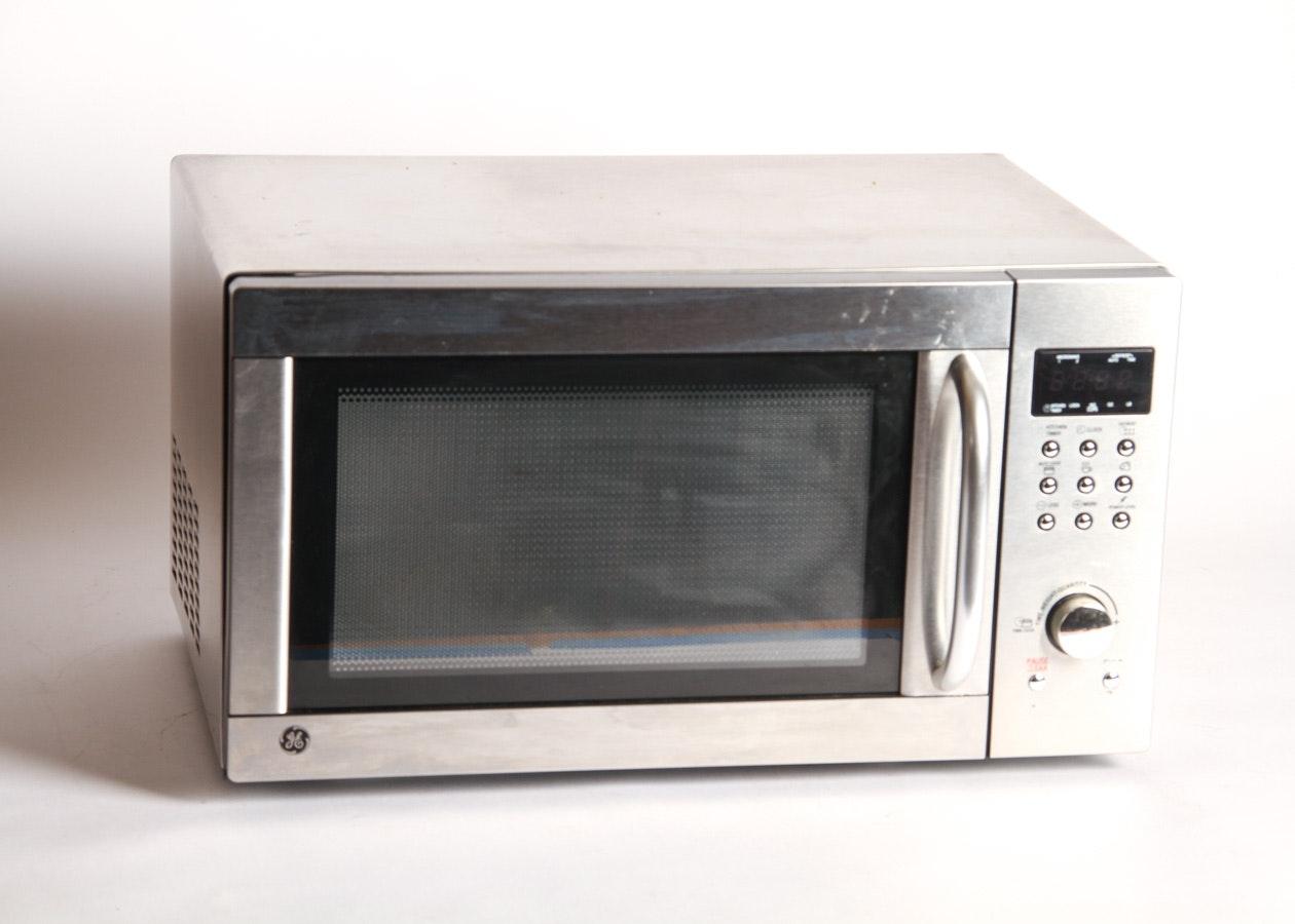 GE Stainless Steel Countertop Microwave : EBTH